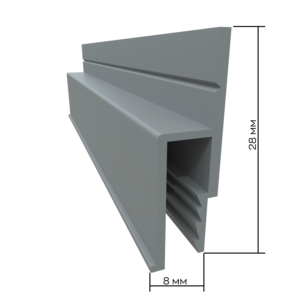 aluminum profile for wall mounting